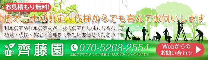 お見積もり無料!剪定や伐採、お庭のリフォームなど喜んでお伺いいたします。WEBからのお問い合わせページへ